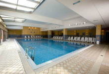 Top Fußballtrainingslager dft-sports Slowenien Piran Wellnessbreich Hallenbad