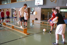 Günstiges Angebot Leichtathletiktrainingslager Main-Tauber Kreis dft-sports Turnhalle indoor Training