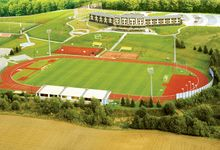 Top American Football Trainingslager Polen Pommern dft-sports Naturrasenplatz Stadion